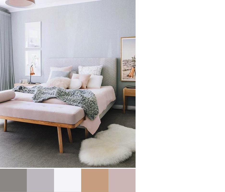 CAMERA DA LETTO: una varietà di palette colori