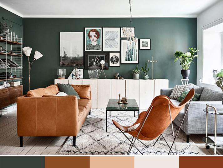 Living: la giusta palette colori