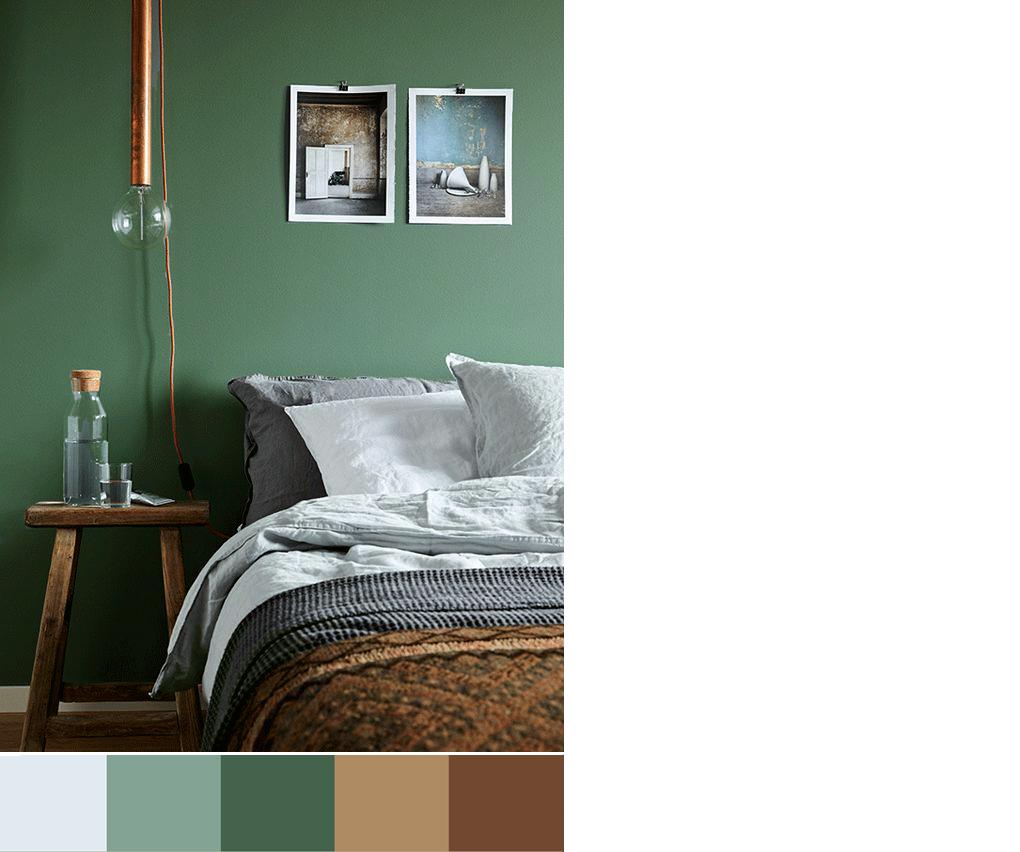 Colori Per La Camera camera da letto: una varietà di palette colori