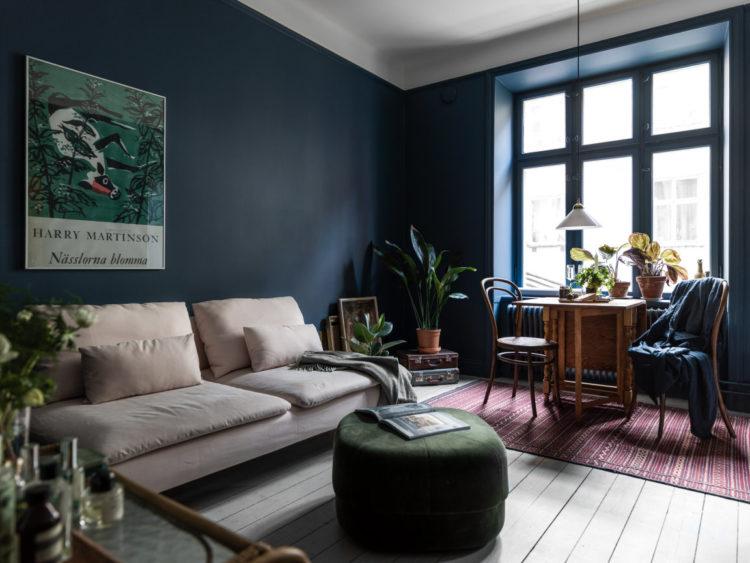 Copia lo stile: un suggestivo appartamento scandinavo a Vasastan