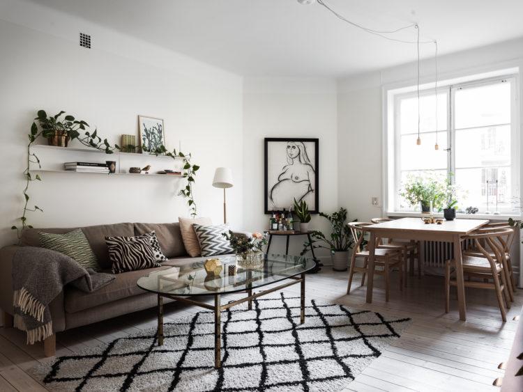 COPIA LO STILE: un luminoso appartamento a Södermalm