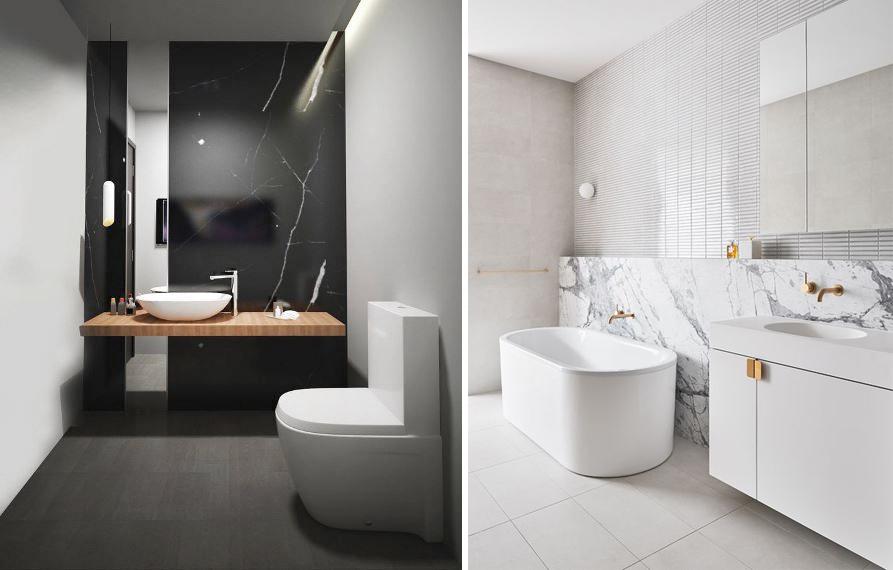 Bagno idee e ispirazioni 1 2 3 style - Bagno elegante piccolo ...