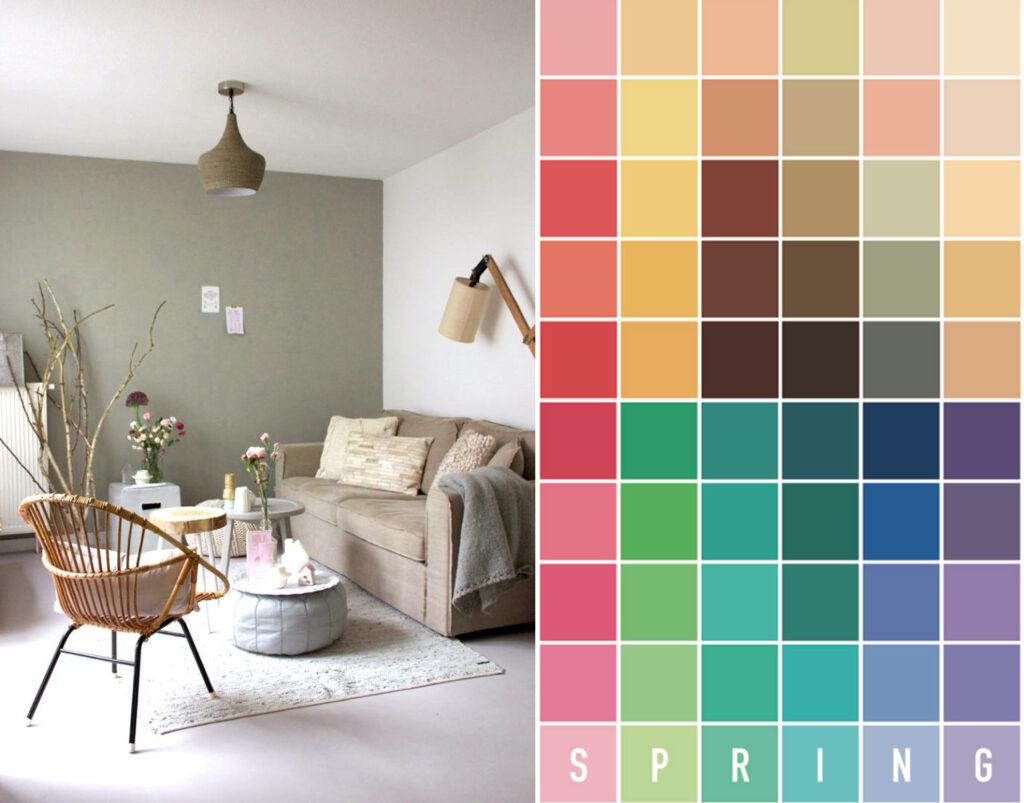 parete colore spring