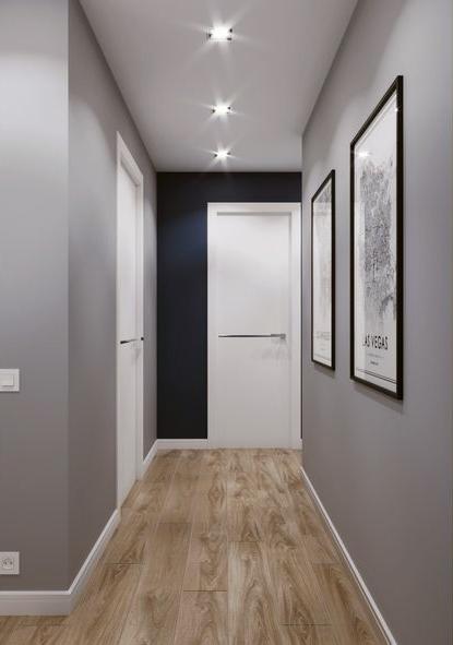 corridoio illuminazione