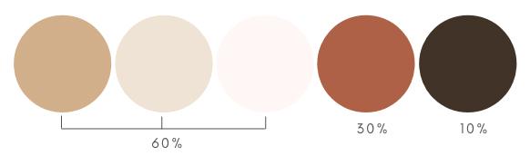 palette colori moodboard