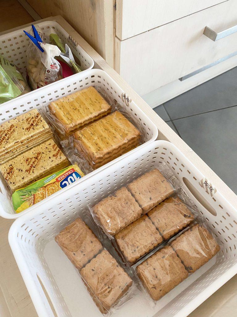 Come organizzare la cucina -contenitori Amazon