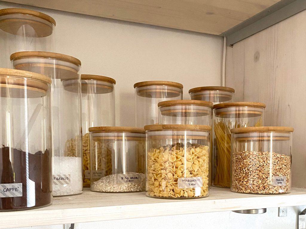 come organizzare la cucina