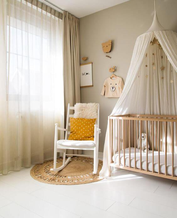 cameretta zona allattamento e relax