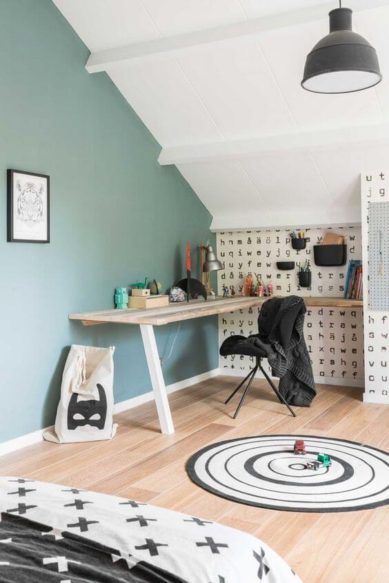 camera ragazzo zona studio